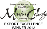 Business Development Board of Martin County Export Excellence Winner
