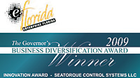 The Governor's Business Diversification Innovation Award Winner presented by eFlorida