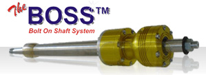 Boss Bolt on Shaft System